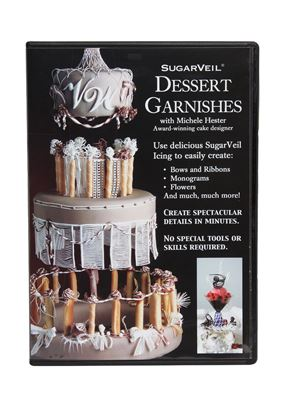 Picture of SugarVeil Dessert Garnishes DVD