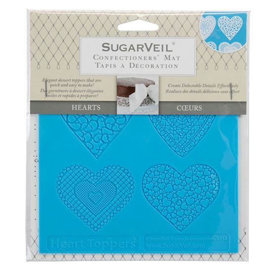 Picture of SugarVeil Heart Toppers Mat