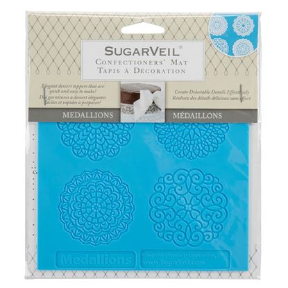 Picture of SugarVeil Medallions Toppers Mat